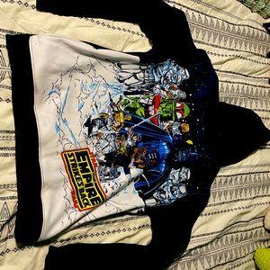 Star Wars sweatshirt size large.